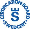 Swedcert logotyp.